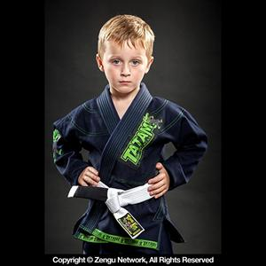 Tatami Animal Kids Jiu Jitsu Gi - Navy Blue